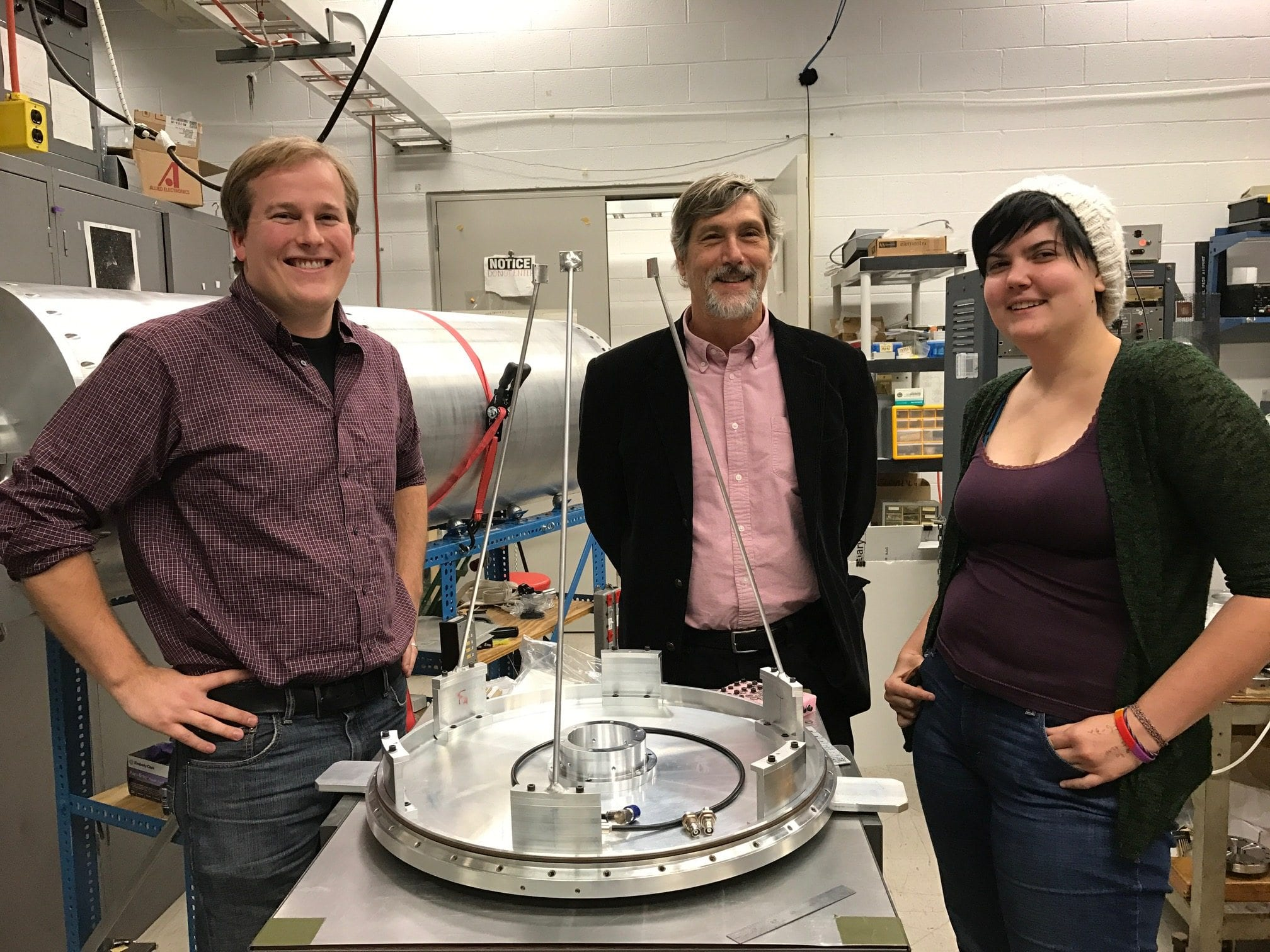 Stephan McCandliss and Team Awarded Astrophysics Research Analysis Grant from NASA for FORTIS Sounding Rocket Experiment